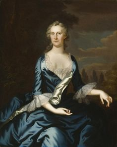 Mrs. Charles Carroll of Annapolis  by  John Wollaston