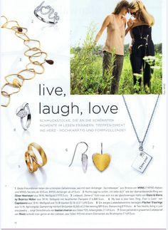 unsere süßen bastian inverun Herzohrhänger aus Silber mit Teilvergoldung #schmuck #design