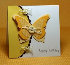 stampin up butterfly birthday - Google Search