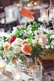 garden wedding centerpieces