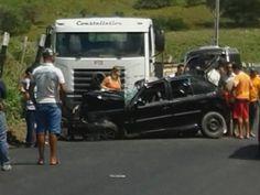 Cinco morrem em colisão entre carro e caminhão no interior de Alagoas | Tô de Olho Em Você
