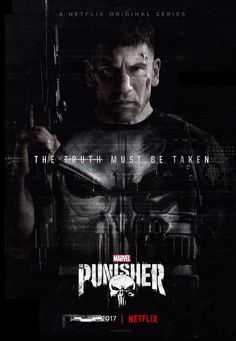 Punisher TV Show Poster with Jon Bernthal in full Punisher suit, take a look at trailer breakdown - DigitalEntertainmentReview.com