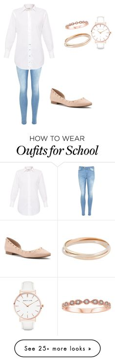 """""""Back to school #2"""" by raunyab on Polyvore featuring Jennifer Lopez, Abbott Lyon and Cartier"""