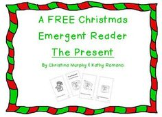 This is a cute and simple emergent reader for Christmas.  It uses the words the, has, a, red, green, yellow, is & it.A free present for you!Merry Christmas!