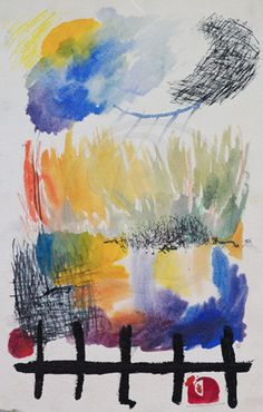 Abstract gallery - Watercolour - Rachel Pennington Art