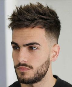 21 Best Short Spiky Hair Cuts for Men - # Cool Hairstyles For Men, Hairstyles Haircuts, Haircuts For Men, Barber Haircuts, Popular Haircuts, Boys Haircuts Trendy 2018, Mens Summer Hairstyles, Mens Hairstyles Fade, Stylish Hairstyles