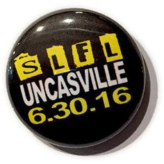 5SOS SLFL Uncasville Tour Button, 1 inch Pin // 5 Seconds of Summer // bymissrose on ETSY // $1.20