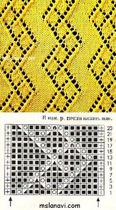 Baby Knitting Patterns, Knitting Charts, Lace Knitting, Knitting Stitches, Stitch Patterns, Knit Crochet, Lace Design, Hobbies And Crafts, Weaving