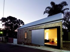 Small Warehouse Converted to The Shed Dwelling