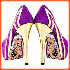 Women's TaylorSays Blondie Purple Pumps 7.5 - Pumps for women (*Amazon Partner-Link)