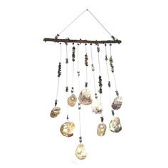 Handmade Unique Suncatcher - witch stones #Handmade Suncatchers, Wind Chimes, Unique, Outdoor Decor, Witch, Stones, Handmade, Home Decor, Rocks