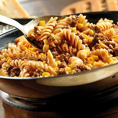 Beef and Rotini Skillet
