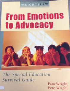 From Emotions to Advocacy Lending Library, Survival Guide, Special Education, Check It Out, Survival Guide Book