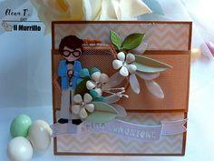 """Ecco la versione di una """"pop up gift card holder"""" di Elena Tornani, per realizzare una busta portasoldi perfetta per la comunione Pop Up, Gift Wrapping, Gifts, Gift Wrapping Paper, Favors, Popup, Gift Packaging, Presents, Gift"""