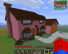 minecraft simpsons house