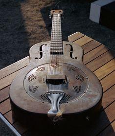 Old National steel guitar