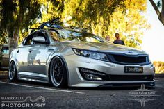 "What do you think of this modified Kia Optima? Its called the ""Droptima."""
