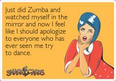 zumba funny workout