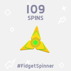 I've just scored 109 spins in this new #FidgetSpinner game! https://itunes.apple.com/app/finger-spinner/id1236104279 Can you beat me?