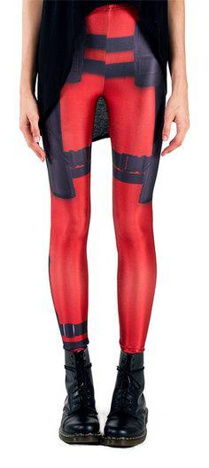Embrace Your Inner Mercenary With Deadpool Leggings