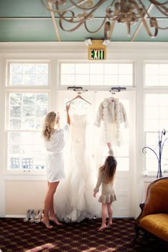 sweetest vow renewal ever: through the eyes of their daughter. adorable~!