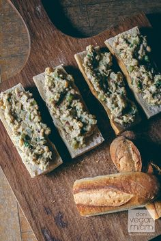 #Vegan Creamy Chickpea Salad and Cilantro with L'epi Bakery Baguette (Buenos Aires, Argentina)