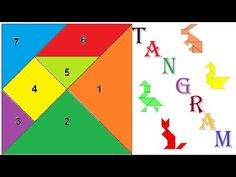 Animal Tangrams vol.1 - YouTube