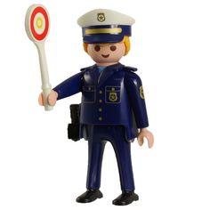PLAYMOBIL SOBRES 5596  SERIE 8 CHICO .4  POLICIA ADUANAS
