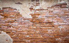 Fragment of Brick Wall - Tapetit / tapetti - Photowall
