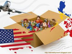 Steve's Toy Room: Expand your toy hunting experience by purchasing from the US and ship to the Philippines the fastest way.