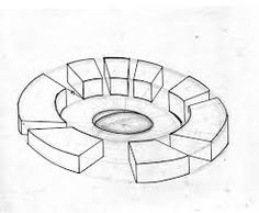 Image result for circular architecture plan