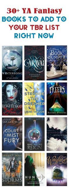 Love YA fantasy? Binge away, my friend, with these 30+ amazingly magical books to read! Check them out! via /nmetolen/