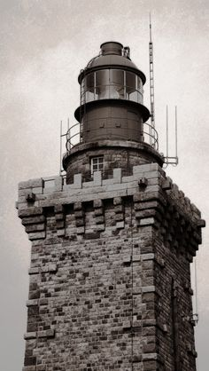 Lighthouse - like a castle