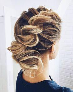 Chic wedding hairstyle,braided wedding hairstyle,braids,updo with braids,wedding hairstyle ideas #weddinghairstyles