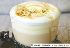 Latte Macchiato, Latte Art, Barista, Yummy Drinks, Protein, Food And Drink, Pudding, Dinner, Baking