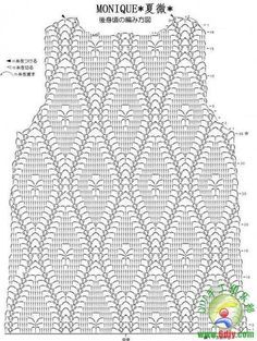 Bildresultat för tops a crochet patrones Débardeurs Au Crochet, Chunky Crochet, Crochet Diagram, Crochet Buttons, Irish Crochet, Modern Crochet Patterns, Crochet Stitches Patterns, Crochet Patterns For Beginners, Needlepoint Stitches