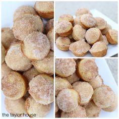 Cinnamon Sugar Muffins, Applesauce Muffins, Muffins for kids, Kids recipes, Easy Kids Muffins
