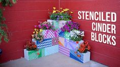Check out the products that @gardenanswer recommends for Stenciled Cinder Blocks on Kit.