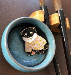Pupple shiba puppy pin_enamel pin_kawaii_puppy_shiba