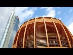 Piazza Gae Aulenti (and proximity places) - YouTube