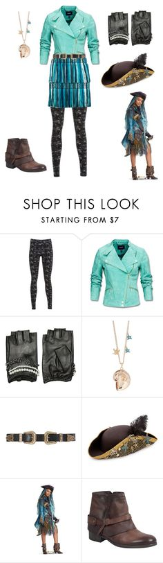 """Descendants 2: Uma"" by mamarellanicole ❤ liked on Polyvore featuring Mexx, Karl Lagerfeld, Fantasia, B-Low the Belt and Miz Mooz"