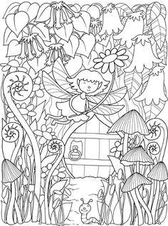 Inkspirations InTheGarden Cute Fairy Garden