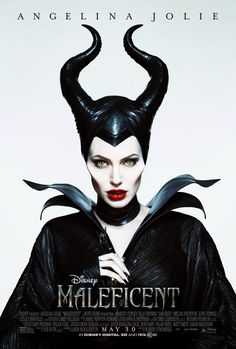 Thanks to Angelina Jolie, the notorious Maleficent has a killer look. Disney princesses sometimes inspire glamorous fashion, but now thanks to Angelina Jolie, the villainous Maleficent is a style muse. Maleficent 2014, Maleficent Movie, Malificent, Maleficent Makeup, Maleficent Horns, Maleficent Costume, Maleficent Quotes, Disney Films, Movie Posters