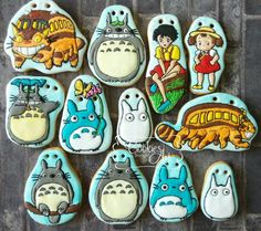 Galletas Totoro