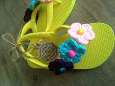 Decorated flip flops  $22.00 dlls