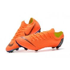 6da37642b14 Soccer cleats · Nike World Cup 2018 Mercurial Vapor XII FG Boots - Orange  Black Nike World