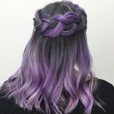 Vibrant Silver and Vibrant Purple  #overtone