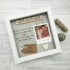 Check out this item in my Etsy shop https://www.etsy.com/uk/listing/515081363/personalised-grandma-frame-gift-for