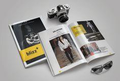 Blizz+ Portfolio by Kingtown. Co on @creativemarket