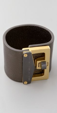 Marc by Marc Jacobs Leather Bianca Cuff $98 -  i am lusting over this oh lord